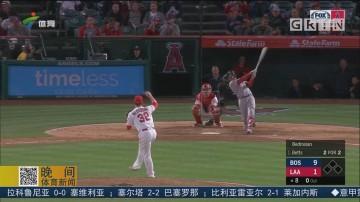 全场六记全垒打 红袜大胜天使