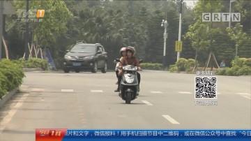 中山:改装摩托深夜狂飙 街坊夜不能寐