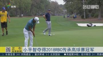 小平智夺得RBC传承高球赛冠军