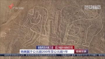 秘鲁再添未解之谜 超25幅新地画被发现:地画属于公元前200年至公元前1年