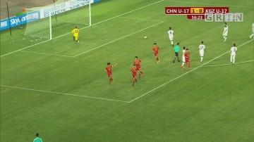 中国U17男足取开门红