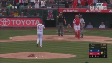 MLB 天使胜光芒结束连败