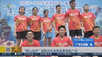 """""""黑山谷杯""""国际羽毛球挑战赛登陆广州"""