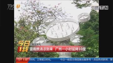 关注天气:雷雨携清凉到来 广州一小时猛降10度