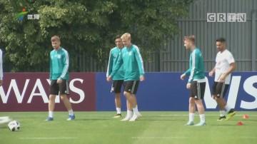 记者现场连线:世界杯德国队公开训练情况