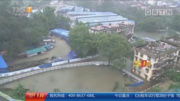 强降雨再度来袭 江门:18条村受浸 山体滑坡