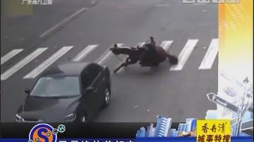 """骑马上街是""""拉风""""还是危险?"""