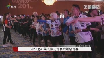 2018达斯莱飞镖公开赛广州站开赛