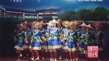 龙门县传统舞蹈《舞火狗》亮相羊城