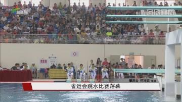 省运会跳水比赛落幕