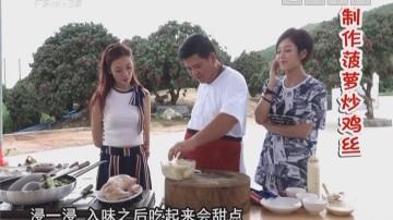 制作菠萝炒鸡丝