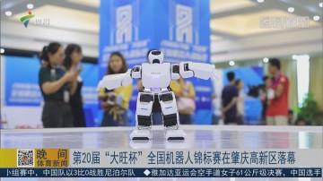 """第20届""""大旺杯""""全国机器人锦标赛在肇庆高新区落幕"""