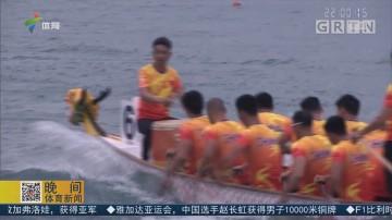 亚运会龙舟500米 中国男女队分获银牌