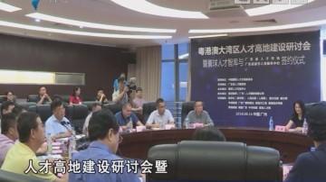 粤港澳大湾区人才高地建设研讨会在广州举办