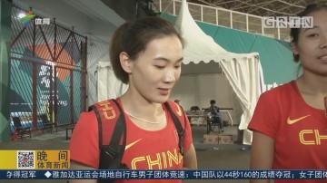 亚运会女子跳远 许小令夺铜牌