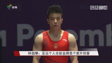 林超攀:亚运个人全能金牌是个意外惊喜