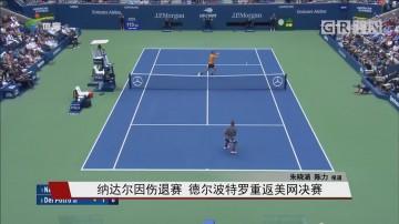 纳达尔因伤退赛 德尔波特罗重返美网决赛