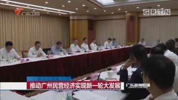 推动广州民营经济实现新一轮大发展