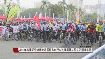 2018年首届环粤港澳大湾区城市自行车挑战赛肇庆德庆站圆满举行