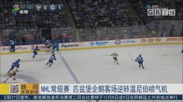 NHL常规赛 匹兹堡企鹅客场逆转温尼伯喷气机