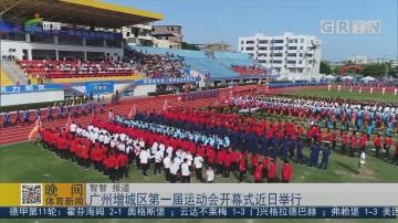 广州增城区第一届运动会开幕式近日举行