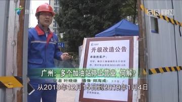 广州:多个加油站停止营业 何解?