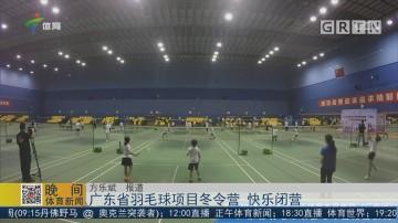 广东省羽毛球项目冬令营 快乐闭营