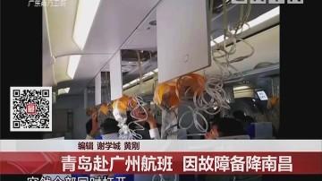 中国东方航空:青岛赴广州航班 因故障备降南昌