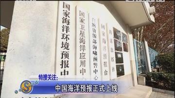 中国海洋预报正式上线