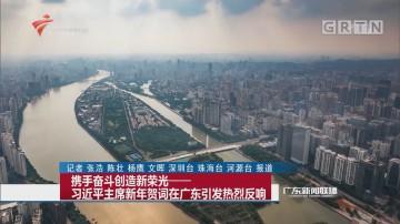 携手奋斗创造新荣光——习近平主席新年贺词在广东引发热烈反响