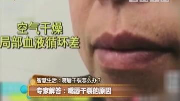 专家解答:嘴唇干裂的原因