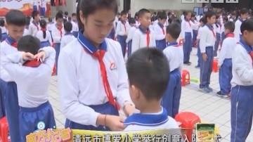 [2019-01-08]南方小记者:清远市博爱小学举行创意入队仪式