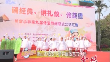[2019-01-21]南方小记者:佛山市镇安小学开展体艺节活动