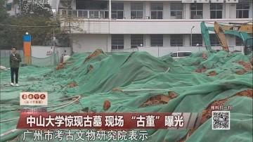 """中山大学惊现古墓 现场""""古董""""曝光"""