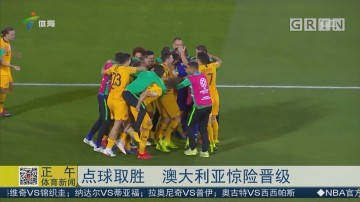 点球取胜 澳大利亚惊险晋级