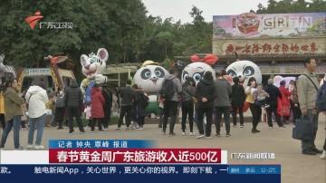 春节黄金周广东旅游收入近500亿