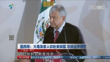 墨西哥:大毒枭家人欲赴美探监 总统出手帮忙