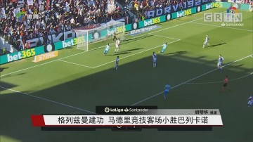 格列兹曼建功 马德里竞技客场小胜巴列卡诺