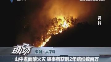 山中煮面酿火灾 肇事者获刑2年赔偿数百万
