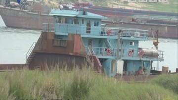 清远:船舶突发爆炸 四人逃过一劫