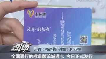 全国通行的标准版羊城通卡 今日正式发行