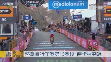 环意自行车赛第13赛段 萨卡林夺冠