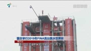 肇庆举行2019年FINA高台跳水世界杯