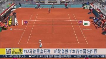 WTA马德里皇冠赛 哈勒普携手本西奇晋级四强