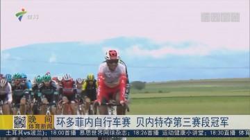 环多菲内自行车赛 贝内特夺第三赛段冠军