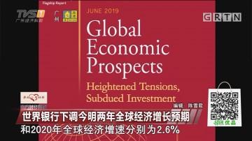 世界银行下调今明两年全球经济增长预期
