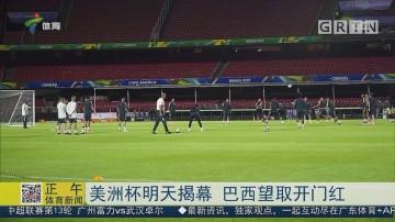 美洲杯明天揭幕 巴西望取開門紅