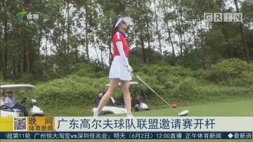 广东高尔夫球队联盟邀请赛开杆