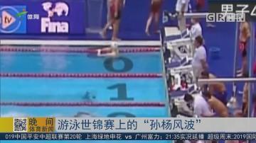 """游泳世锦赛上的""""孙杨风波"""""""