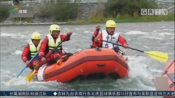 高海拔高难度 三江之源渡险滩